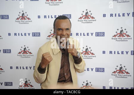 Beverly Hills, USA. 22nd May, 2019. Boxer Sugar Ray Leonard attends Sugar Ray Leonard Foundation's 10th Annual 'Big Fighters, Big Cause' Charity Boxing Night at The Beverly Hilton Hotel on May 22, 2019 in Beverly Hills, California. Credit: The Photo Access/Alamy Live News - Stock Image