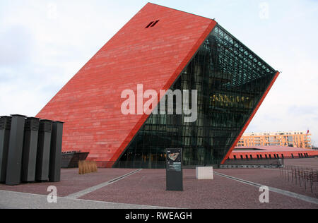 Museum of the Second World War at Gdansk in Northern Poland - Stock Image