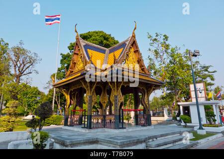 Grounds of the National Museum, Phra Nakhon, Bangkok, Thailand - Stock Image