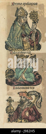 Nuremberg chronicles f 181r 2 - Stock Image