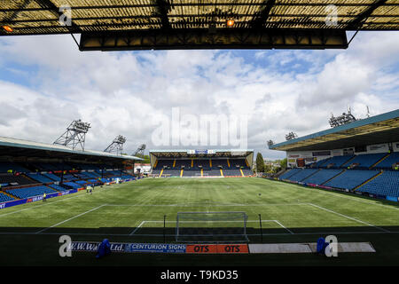 General view of Rugby Park before the Ladbrokes Scottish Premiership match at rugby Park, Kilmarnock. - Stock Image