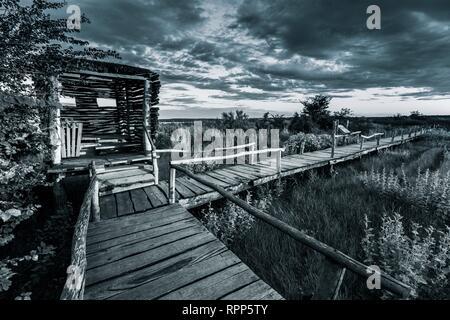 Vrana lake in Dalmatia Croatia - Stock Image