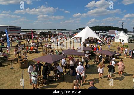 Freeman Event Partners, Food Court, Formula One, F1, British Grand Prix, Silverstone Circuit, Northamptonshire, Silverstone Circuit, Towcester NN12 8T - Stock Image