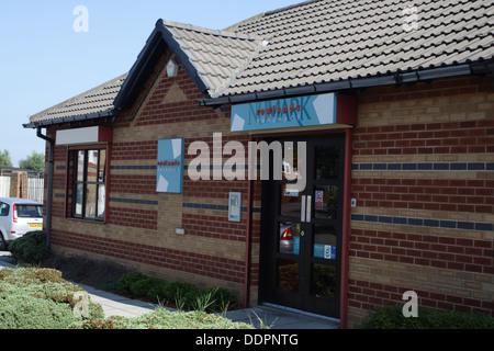 Rowlands Pharmacy, Next door to The Old Forge Surgery, Pallion, Sunderland. - Stock Image