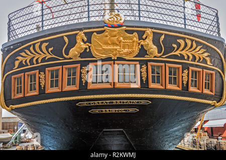 Ship SS Great Britain ristol UK - Stock Image