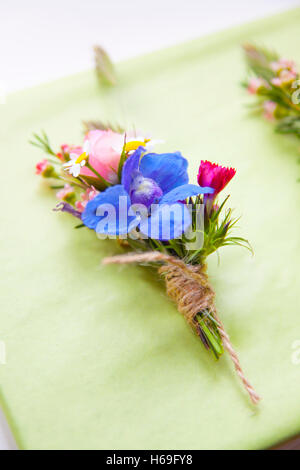 Dress, flower, bouquet, boutonniere, bridal, groom, Wedding, marriage, marriage, marriage, marriage, marriage, marriage, - Stock Image
