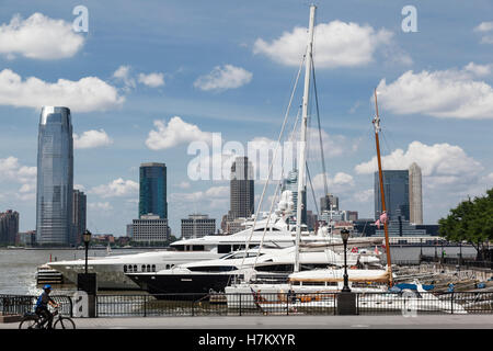Boats and New Jersey - Stock Image