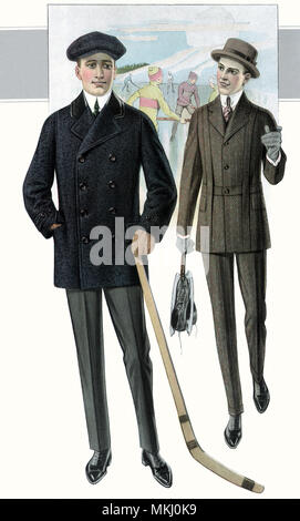 Well Dressed for Hockey - Stock Image