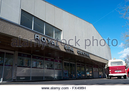 Royal Spa Centre - entertainments venue in Newbold Terrace, Royal Leamington Spa, Warwickshire, UK. - Stock Image