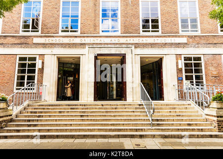 School of Oriental and African Studies London, School of Oriental and African Studies, SOAS, SOAS London, School of Oriental & African Studies, UK - Stock Image