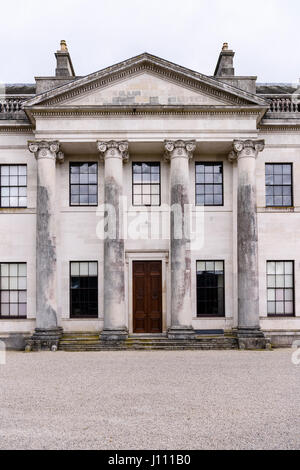 Castle Coole stately home, Enniskillen, owned my the National Trust - Stock Image