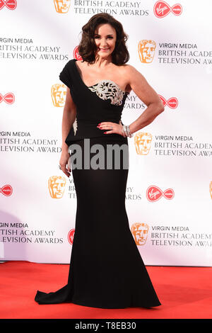 London, UK. 12th May, 2019. LONDON, UK. May 12, 2019: Shirley Ballas arriving for the BAFTA TV Awards 2019 at the Royal Festival Hall, London. Picture: Steve Vas/Featureflash Credit: Paul Smith/Alamy Live News - Stock Image