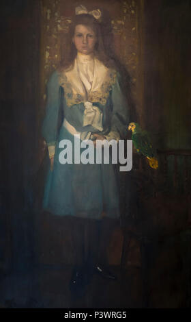 Frances Tileston Breese, Edward Steichen, 1906, Museum of Fine Arts, Boston, Mass, USA, North America - Stock Image