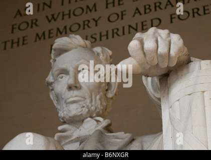 Abraham Lincoln Memorial - Washington DC - Stock Image