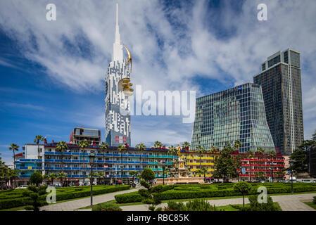 Georgia, Batumi, Batumi Tower - Stock Image