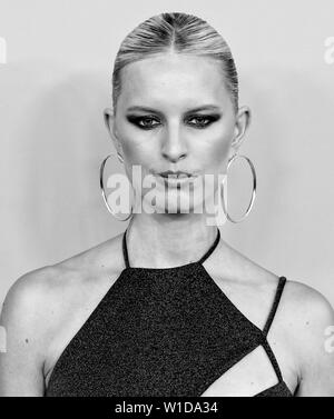 New York, NY - June 03, 2019: Karolina Kurkova attends 2019 CFDA Fashion Awards at Brooklyn Museum - Stock Image