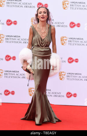 LONDON, UK. May 12, 2019: Amanda Mealing arriving for the BAFTA TV Awards 2019 at the Royal Festival Hall, London. Picture: Steve Vas/Featureflash - Stock Image
