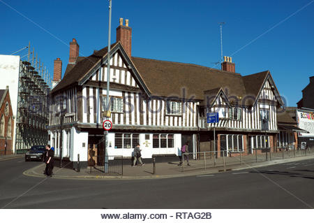 The Old Crown public house, in Digbeth, central Birmingham, West Midlands, UK. - Stock Image
