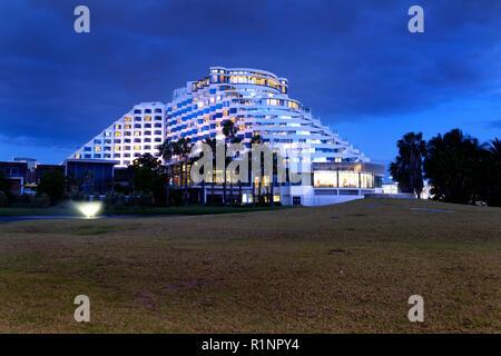 Crown Casino Hotel complex, Perth, Western Australia - Stock Image