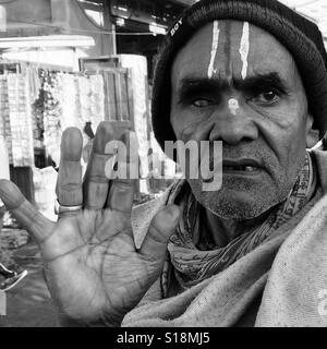 Holyman, Pashupati - Stock Image