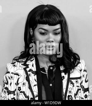 New York, NY - June 03, 2019: Teyana Taylor attends 2019 CFDA Fashion Awards at Brooklyn Museum - Stock Image