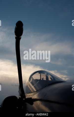 Refueling tube, Aeritalia EMB AMX Italian Air Force - Stock Image