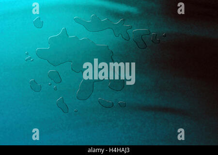 Abstract digital water - Stock Image
