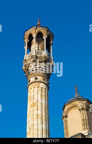 Aziziye Cami, Azizia mosque, Bazaar area, Konya, Turkey - Stock Image