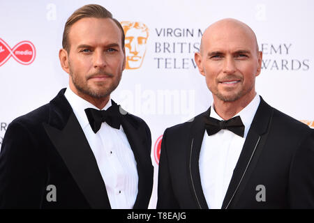 LONDON, UK. May 12, 2019: Bros arriving for the BAFTA TV Awards 2019 at the Royal Festival Hall, London. Picture: Steve Vas/Featureflash - Stock Image