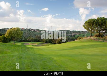 Marco Simone golf course near Rome Ryder Cup 2022 venue - Stock Image