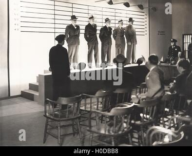 The usual suspects - Stock Image