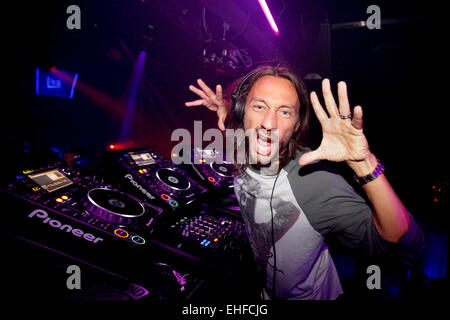 Bob Sinclair at Ministry of Sound London on 12th July 2010. - Stock Image