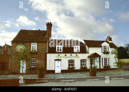 The Cricketers Public House, Sarratt, Hertfordshire - Stock Image