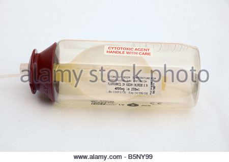 Chemotherapy pump - Stock Image