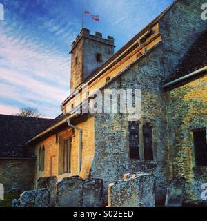 Olde England Church - Stock Image