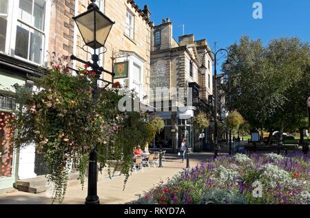 Shops in Montpellier Quarter of Harrogate. - Stock Image
