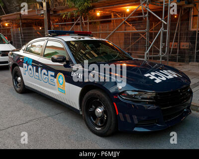 The Montreal police new car design - Stock Image