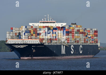 MSC Laurence - Stock Image