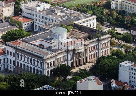 Universidade do Brasil in Rio de Janeiro - Stock Image