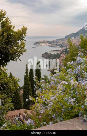 Roquebrune-Cap-Martin, South of France. - Stock Image