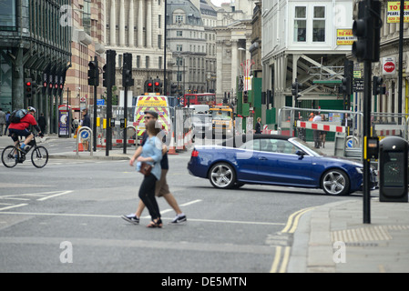 Typical London street - Stock Image