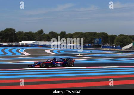 Marseille, France. 21st Jun 2019. FIA Formula 1 Grand Prix of France, practice sessions; Scuderia Toro Rosso, Alexander Albon Credit: Action Plus Sports Images/Alamy Live News - Stock Image