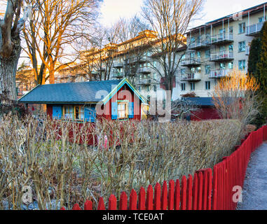 Allotments Stockholm - Stock Image