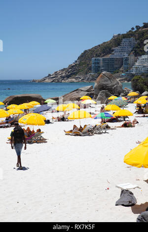 Clifton Third Beach in Cape Town, South Africa - Stock Image
