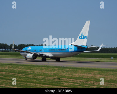 PH-BXH KLM Royal Dutch Airlines Boeing 737-8K2(WL) - cn 29597 5 - Stock Image