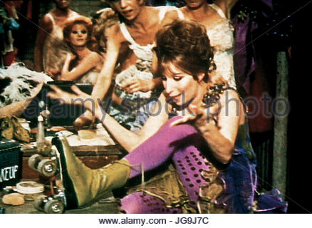 FUNNY GIRL (1968). Pictured:  Barbra Streisand.  Copyright Columbia Pictures.  Editorial use only. - Stock Image