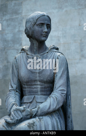 LOUISIANA Evangeline Statue from poem written by Henry Wadsworth Longfellow - Stock Image