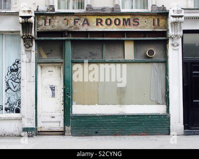 Cafe tea rooms, London - Stock Image