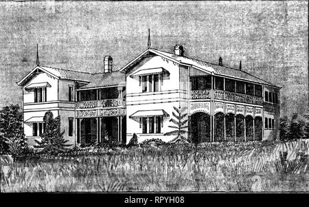 Gympie_Hospital,_1891 - Stock Image