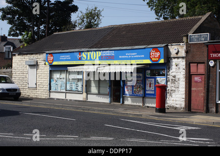 One Stop European and Continental Store, Sunderland, England - Stock Image